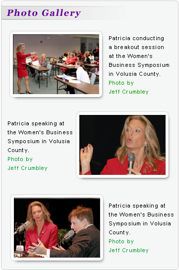 empowering women with inspirational keynote presentations